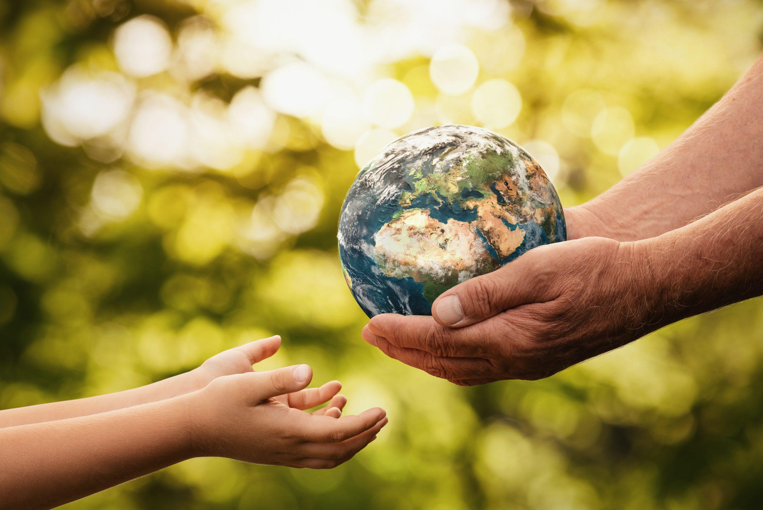 Gebt Acht auf die Welt, die nächste Generation möchte auch noch etwas davon haben