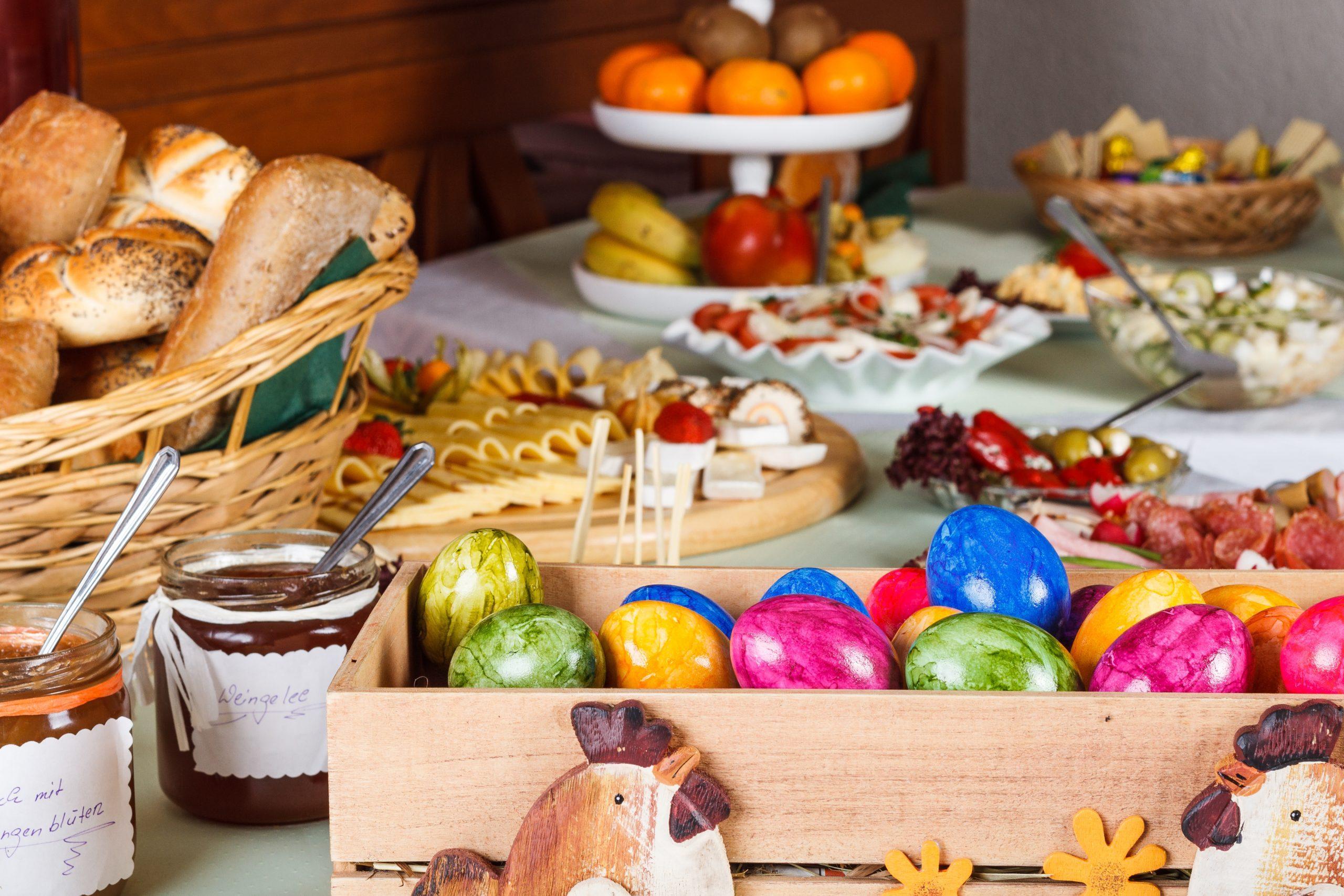 Ein Osterbruch eignet sich perfekt um alles zu Essen, worauf du Lust hast!