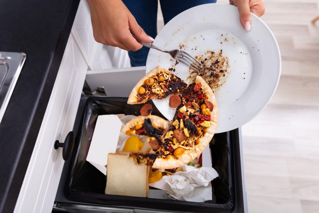Lebensmittelverschwendung - gutes Essen wird weggeschmissen