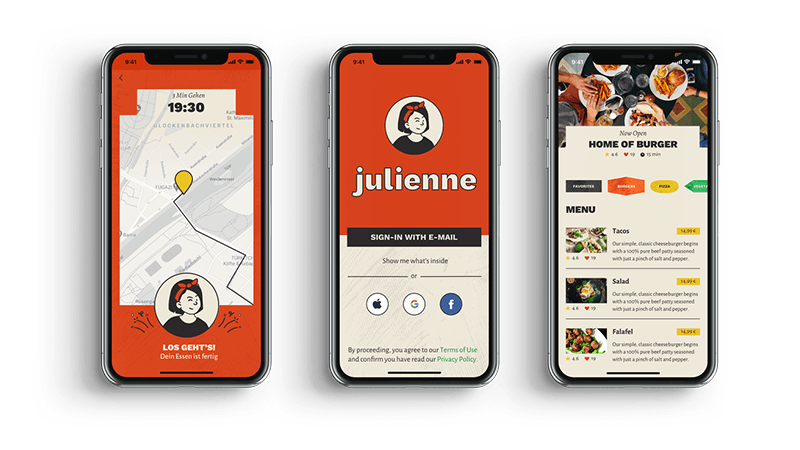 Julienne App Preview