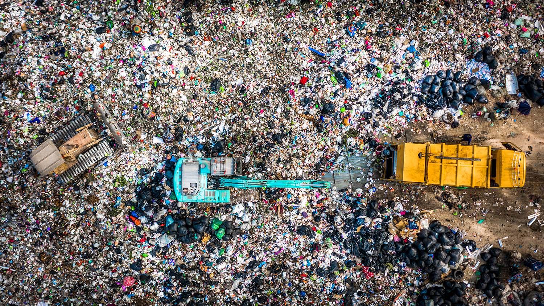 Recyclinghof für unseren Hausmüll
