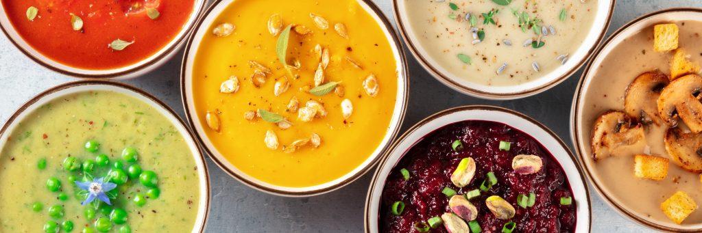 Im LabRestaurant bekommst du täglich unterschiedliche saisonale Suppen